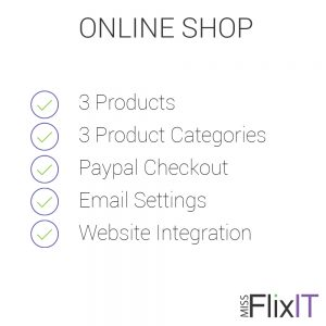 online shopping cart setup for small business in Byron Bay