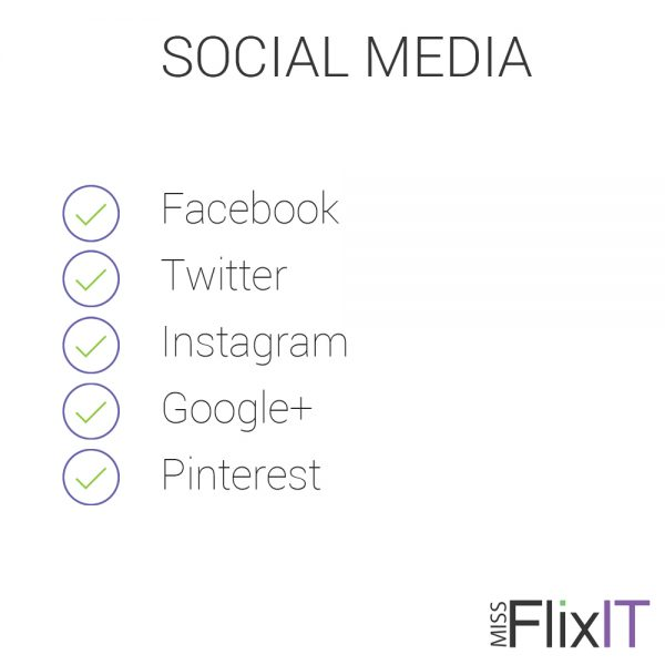 Social Media Setup and Maintenance by Miss FlixIT